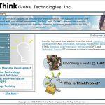 Think Global Technologies website